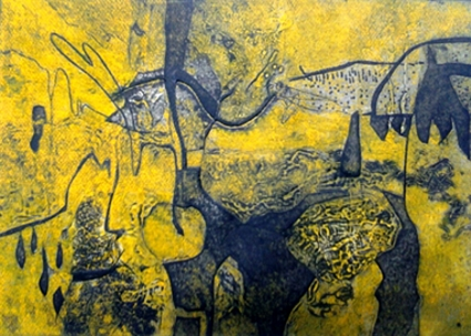 Kender, pintor abstracto porque sí
