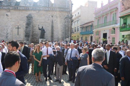Spanish President Pedro Sánchez in Cuba: a symbol of a shared tribute between the Spanish and the Cuban people