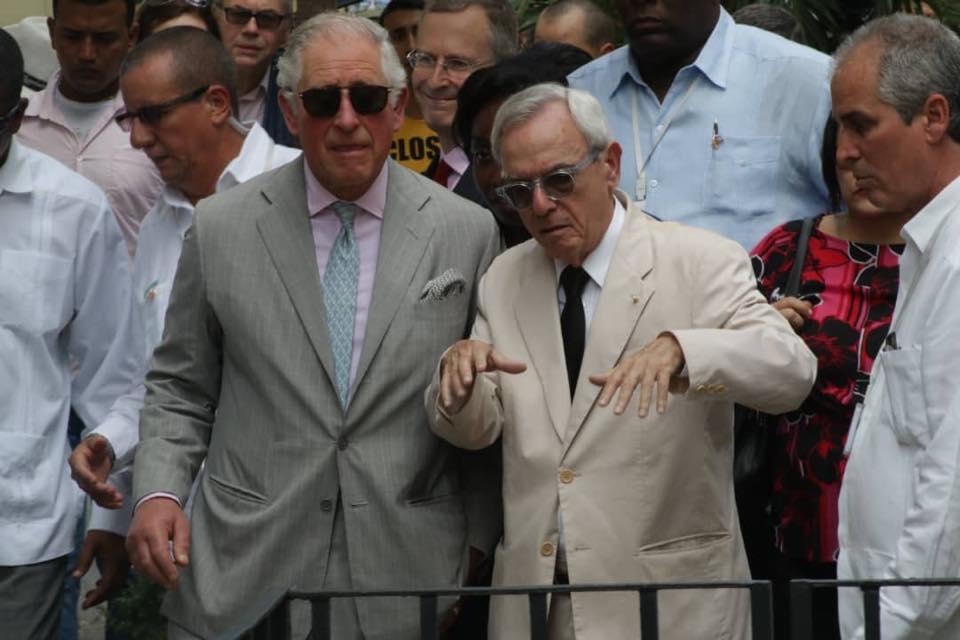 Cuba despide al Príncipe de Gales y la Duquesa de Cornualles