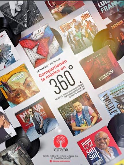 La Egrem celebra su 55 aniversario a lo grande