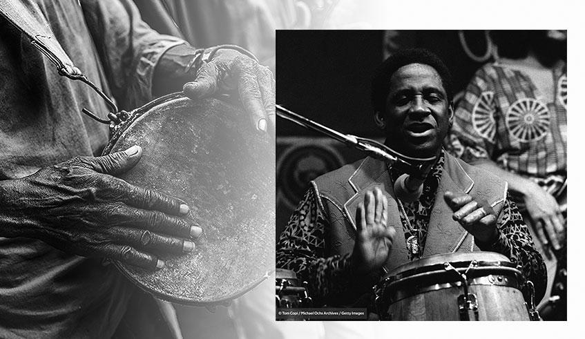 Para África una gran fiesta de tambores