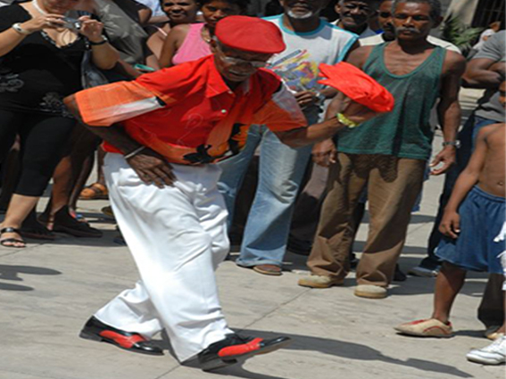Cuban Rumba, in the list of World Intangible Heritage